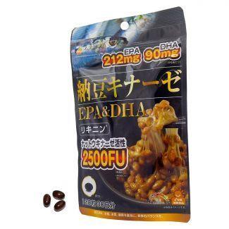 Fine Japan優の源 - 納豆激酶+EPA&DHA軟膠囊 (120粒)