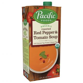Pacific Foods - 美國有機烤紅椒番茄湯 (946ml)