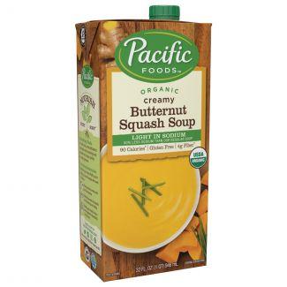 Pacific Foods - 美國有機低鹽軟滑堅果南瓜湯 (946ml)