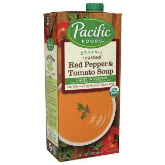 Pacific Foods - 美國有機低鹽烤紅椒番茄湯 (946ml)