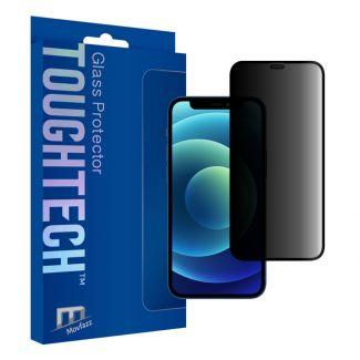 Movfazz - ToughTech iPhone 12 mini 防偷窺玻璃全屏幕保護貼 (黑邊)