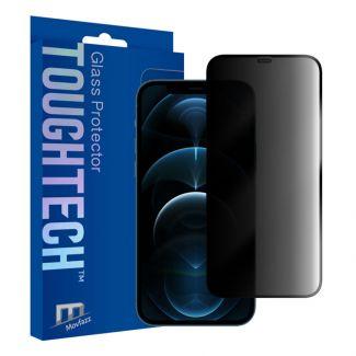 Movfazz - ToughTech iPhone 12 Pro Max 防偷窺玻璃全屏幕保護貼 (黑邊)