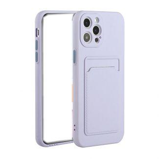 DELICATE - 全城熱賣iPhone12ProMax手機殼 (紫色)