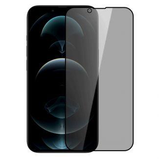 "Nillkin - iPhone 13/13 Pro 6.1""日本AGC玻璃防偷窺2.5D 9H HD高清鋼化膜送貼膜神器隱衛 (黑色)"