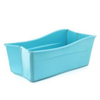 Smart Baby - 便攜折疊式嬰兒浴盆 (淺藍色)
