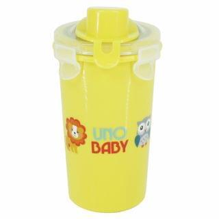 Uno Baby - 幼兒不鏽鋼水杯有蓋連飲管 (360ml)