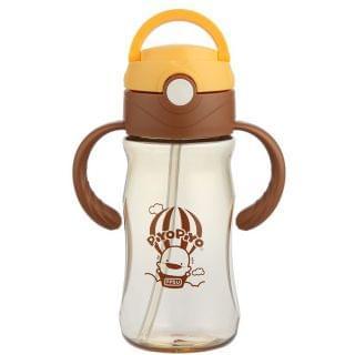 黃色小鴨 - 夢想高飛PPSU握把水杯 (330ml) (布丁色)