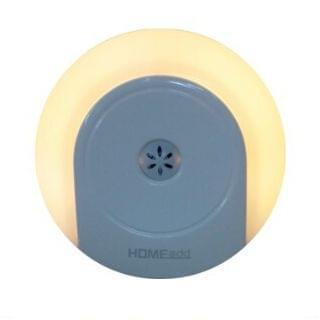HOME@dd - LED節能小夜燈 (智能感光加手動開關) (黃光-白色)