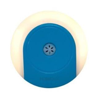 HOME@dd - LED節能小夜燈 (智能感光加手動開關) (黃光-藍色)