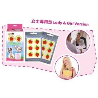 HOME@dd - 天然驅蚊貼-女士專用型 (8盒優惠裝) (12貼 x 8)
