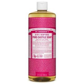 Dr. Bronner's - 有機玫瑰皂液 (32oz裝)