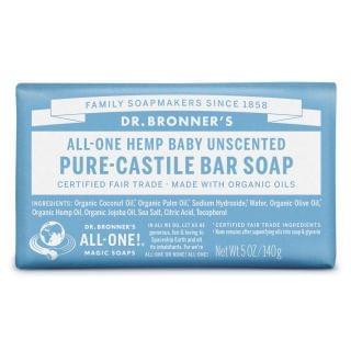 Dr. Bronner's - 有機温和BB皂 (4件裝)