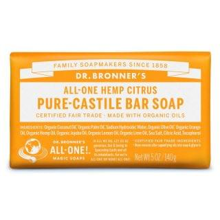 Dr. Bronner's - 有機香橙皂 (4件裝)