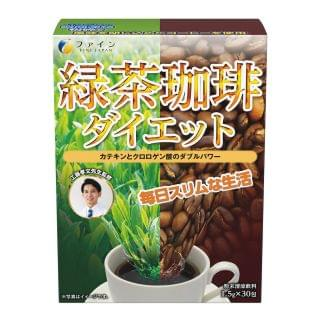 Fine Japan優の源 - 綠茶咖啡 (1.5g X 30包)