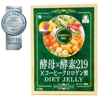 Fine Japan優の源 - 酵母x酵素219纖體瘦身蔬果纖維酵素 (啫喱裝) (10g X 22包)