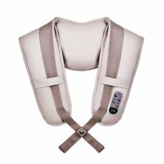 LOHAS - 肩頸揼揼鬆按摩帶 (灰色)