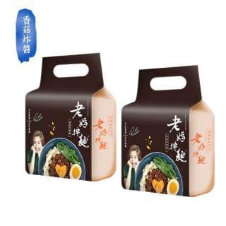 老媽拌麵 - 香菇炸醬拌麵 (436g) (2包)