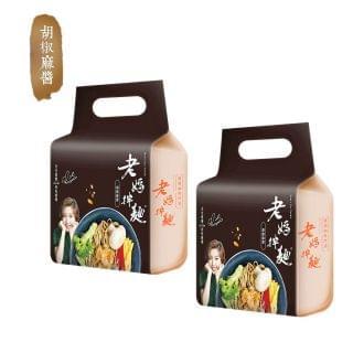 老媽拌麵 - 胡椒麻醬拌麵 (564g) (2包)