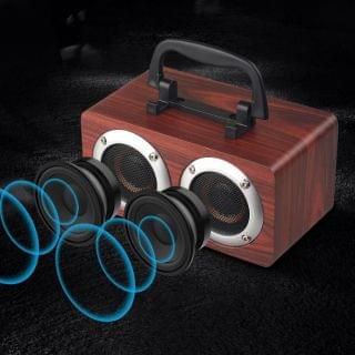 Andard - 木質無線藍牙音箱 W5B (顏色隨機)