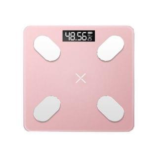 HK Mart - 智能藍牙體脂磅 (珊瑚粉)