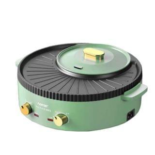 TSK - 4D聚能家用獨立設計一體式火鍋燒烤機 (SS33) (綠色)