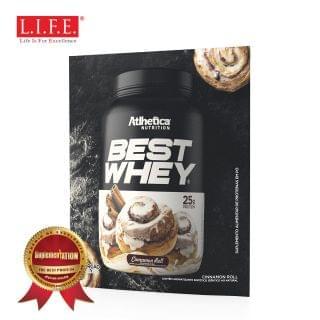 Atlhetica - BEST WHEY 至尊乳清蛋白粉 (幽香玉桂卷) (獨立包裝) (37g)