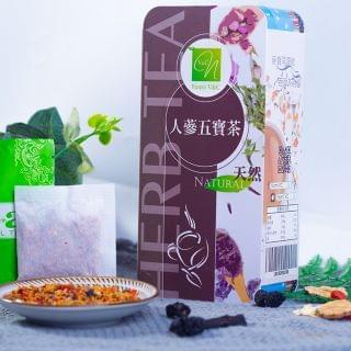 Nomi V&C - 人蔘五寶茶 (4g X 18包)