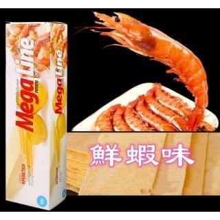 HK Mart - 俄羅斯MegaLine薯片(鮮蝦味) (100g x 2盒)