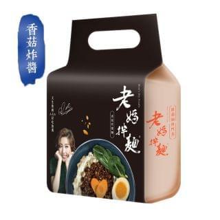 老媽拌麵 - 香菇炸醬拌麵 (436g)