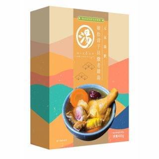 Misoup - 姬松茸干貝燉老雞湯 (400g)