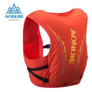 AONIJIE 奧尼捷 - 超輕8L 戶外運動背包 (紅色細碼)【贈送2個450毫升軟水樽】