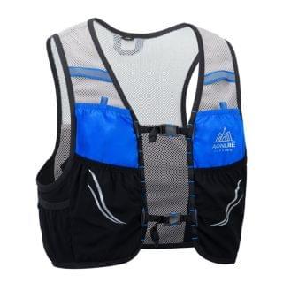 AONIJIE 奧尼捷 - 2.5L 超輕運動背包 (黑色細碼)【贈送2個450毫升軟水樽】