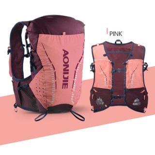 AONIJIE 奧尼捷 - 專業 18L 戶外運動背包 (珊瑚粉色細碼)【贈送2個420毫升軟水樽】