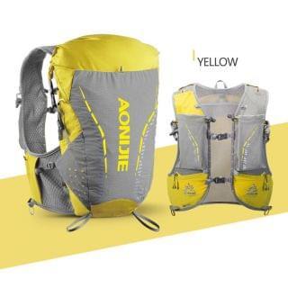 AONIJIE 奧尼捷 - 專業 18L 戶外運動背包 (陽光黃色細碼)【贈送2個420毫升軟水樽】