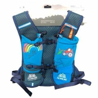 AONIJIE 奧尼捷 - 市場首賣 2.5L 小朋友4-8歲超輕戶外運動背包 (藍)