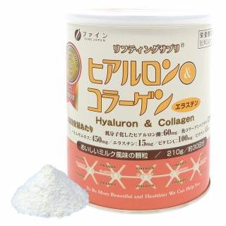Fine Japan優の源 - 透明質酸及膠原蛋白粉(罐裝) (210克)