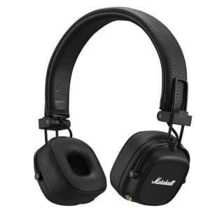 Marshall - MAJOR IV 黑 無線頭戴式藍牙耳機 (黑色)