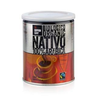 GOPPION - 意大利納特沃有機罐裝咖啡豆 (250g)
