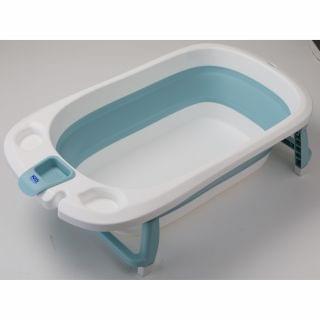 Kid Creations - Ozeanisch 摺疊浴盆 (藍色) (送超純柔濕巾消毒加濕瓶)