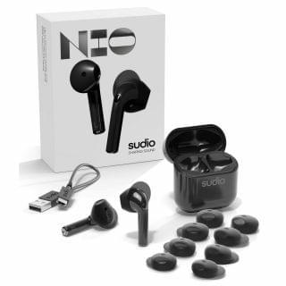 Sudio - Nio 真無線耳機 (黑色)