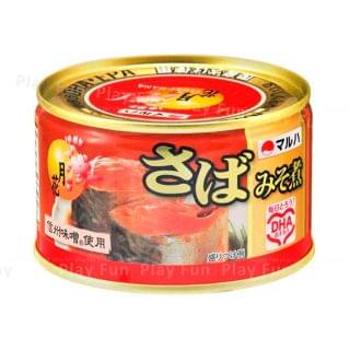 MARUHA NICHIRO - 月花 信州味噌煮鯖魚罐頭 (200g) (紅色)