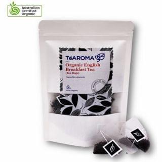 TeAROMA - 有機英式早餐茶包 (2g x 20包)