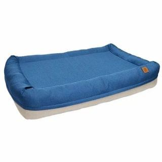 LifeApp - 寵物緩壓睡墊 - 愛兒堡 L (午夜藍) (W115xD75xH20cm)