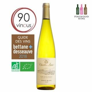 Charles Baur - 白皮諾有機白酒 2018 (750ml)