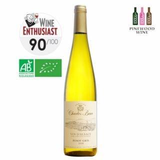 Charles Baur - 灰皮諾有機白酒 2018 (750ml)