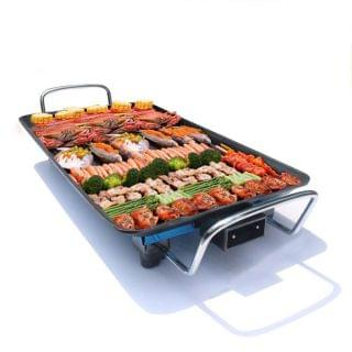 JTSK Japan - 韓式多功能無菸不粘底電烤盤 鐵板燒 烤肉鍋 電烤爐 烤肉機 電烤爐 烤肉機