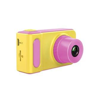 JTSK Japan - 兒童D-168可拍照內置遊戲數碼相機 (粉紅色)