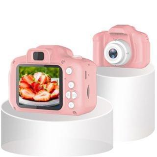 TSK Japan - 第四代高清2000萬像素趣味兒童專屬相機 (粉紅色)