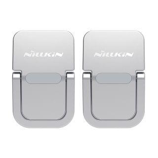 Nillkin - 手提電腦/平板電腦便攜支架 堅固鋅合金 2片裝 人工力學矯正姿勢視角優耐 (銀色)
