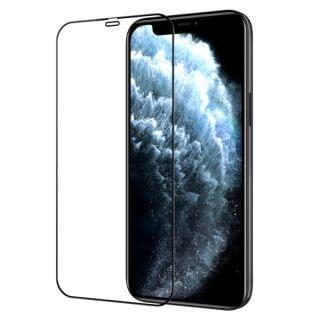 "Nillkin - iPhone 12 Pro Max 6.7"" 日本AGC玻璃2.5D 9H HD高清防刮防指紋防炫光鋼化膜 (黑色)"
